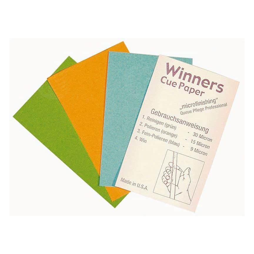 Winners Cue Paper - Snooker & Pool Cue Papers