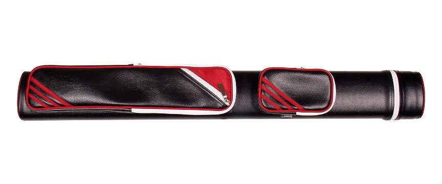 Label 9 Red Tube Pool Cue Case