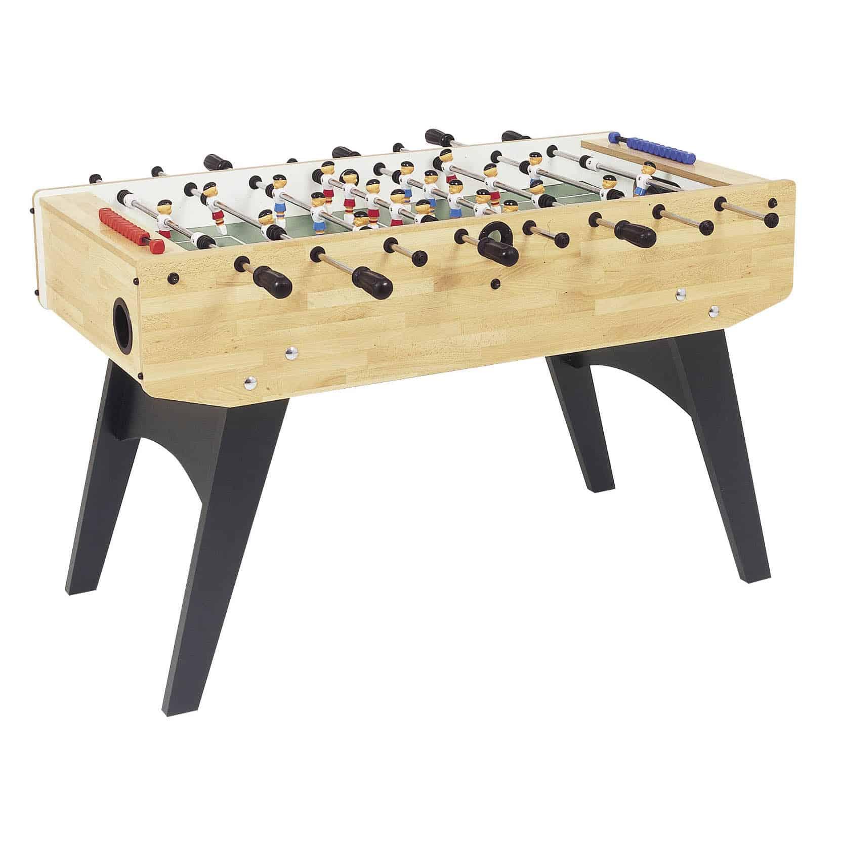 Garlando F20 Foldable Table Football Beech