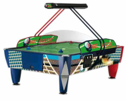 Double Soccer Fast Track 8.5 ft Air Hockey Table
