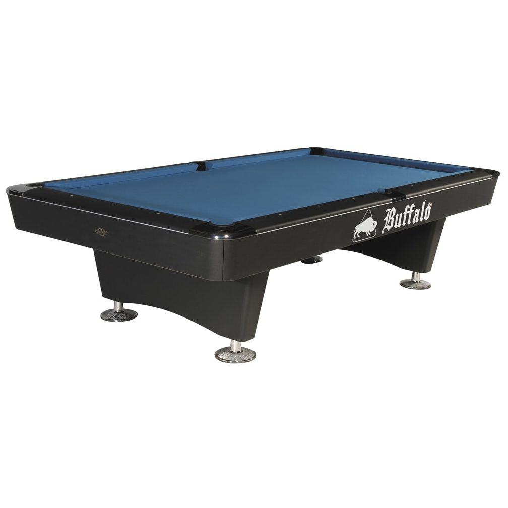 Buffalo Black Dominator 8ft or 9ft American Pool Table