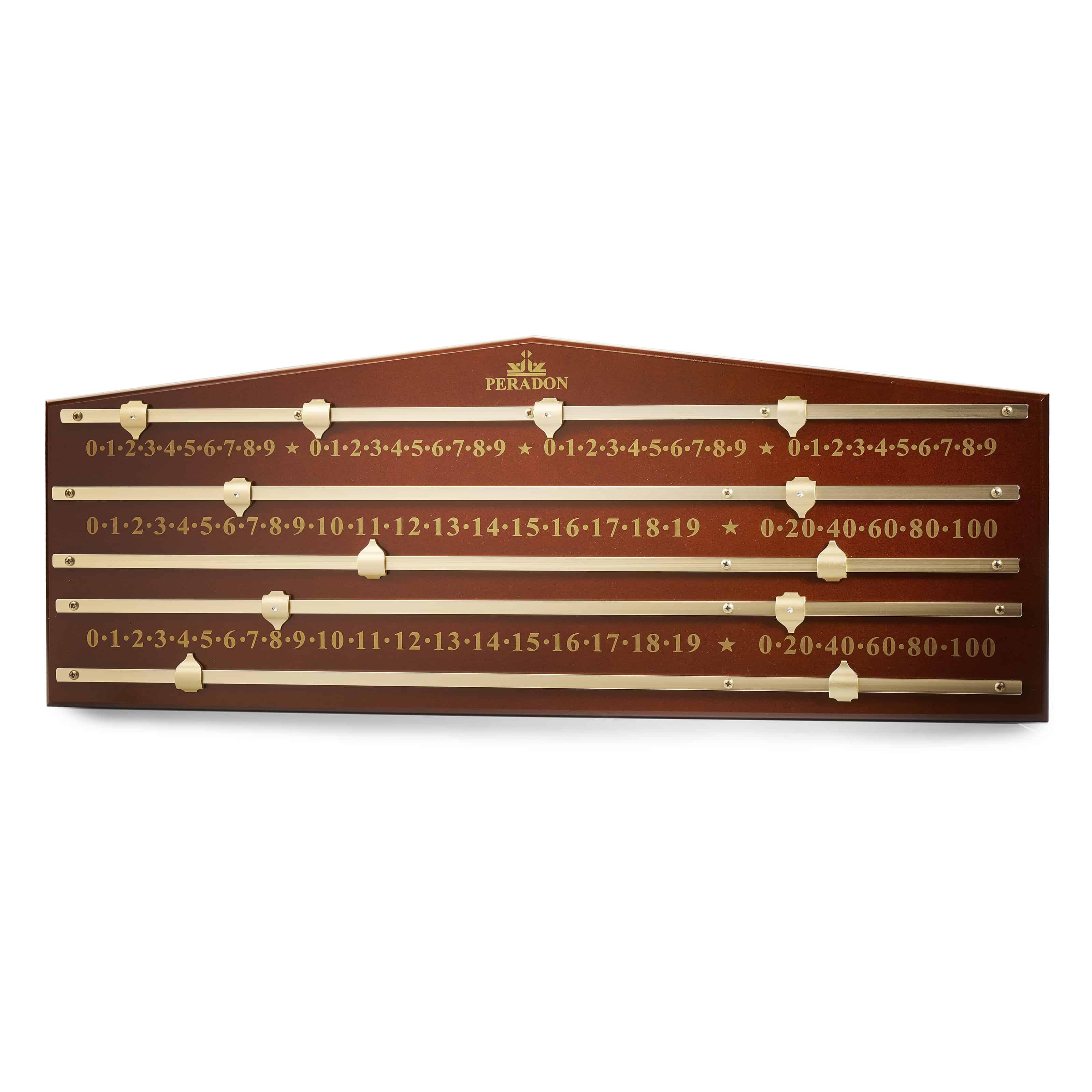 Peradon Mahogany Coloured Marking Board